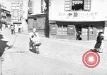 Image of returning French refugees Vannes France, 1944, second 1 stock footage video 65675055592