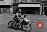 Image of returning French refugees Vannes France, 1944, second 3 stock footage video 65675055592