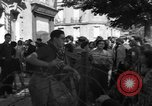 Image of returning French refugees Vannes France, 1944, second 7 stock footage video 65675055592