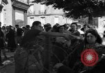 Image of returning French refugees Vannes France, 1944, second 8 stock footage video 65675055592
