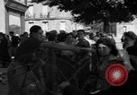 Image of returning French refugees Vannes France, 1944, second 9 stock footage video 65675055592