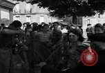 Image of returning French refugees Vannes France, 1944, second 10 stock footage video 65675055592
