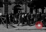 Image of returning French refugees Vannes France, 1944, second 11 stock footage video 65675055592