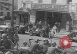 Image of GIs at sidewalk cafe Le Mans France, 1944, second 12 stock footage video 65675055594