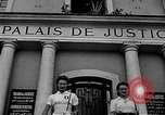 Image of French civilians Le Mans France, 1944, second 2 stock footage video 65675055596
