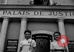 Image of French civilians Le Mans France, 1944, second 3 stock footage video 65675055596