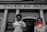 Image of French civilians Le Mans France, 1944, second 4 stock footage video 65675055596