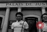 Image of French civilians Le Mans France, 1944, second 5 stock footage video 65675055596