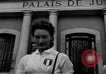 Image of French civilians Le Mans France, 1944, second 6 stock footage video 65675055596