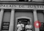 Image of French civilians Le Mans France, 1944, second 10 stock footage video 65675055596