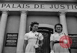 Image of French civilians Le Mans France, 1944, second 12 stock footage video 65675055596