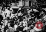 Image of celebrations at Liberation of Paris Paris France, 1944, second 4 stock footage video 65675055597