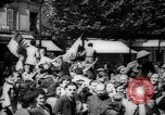Image of celebrations at Liberation of Paris Paris France, 1944, second 6 stock footage video 65675055597