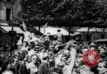Image of celebrations at Liberation of Paris Paris France, 1944, second 7 stock footage video 65675055597