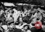 Image of celebrations at Liberation of Paris Paris France, 1944, second 8 stock footage video 65675055597