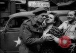 Image of Parisian civilians Paris France, 1944, second 8 stock footage video 65675055600