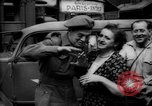 Image of Parisian civilians Paris France, 1944, second 9 stock footage video 65675055600