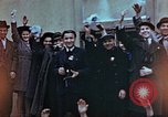 Image of Czech civilians Pilsen Czechoslovakia, 1945, second 2 stock footage video 65675055602