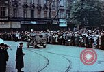 Image of Czech civilians Pilsen Czechoslovakia, 1945, second 6 stock footage video 65675055602