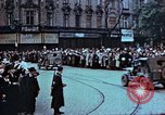 Image of Czech civilians Pilsen Czechoslovakia, 1945, second 7 stock footage video 65675055602