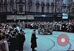 Image of Czech civilians Pilsen Czechoslovakia, 1945, second 8 stock footage video 65675055602