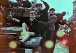 Image of Czech civilians Pilsen Czechoslovakia, 1945, second 2 stock footage video 65675055603