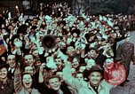 Image of Czech civilians Pilsen Czechoslovakia, 1945, second 8 stock footage video 65675055603