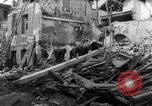 Image of smoldering ruins Vichy France, 1943, second 6 stock footage video 65675055611