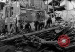 Image of smoldering ruins Vichy France, 1943, second 8 stock footage video 65675055611