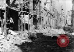Image of smoldering ruins Vichy France, 1943, second 5 stock footage video 65675055612