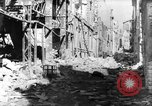Image of smoldering ruins Vichy France, 1943, second 6 stock footage video 65675055612