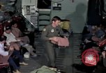 Image of load master on aircraft Philippines, 1979, second 6 stock footage video 65675055626