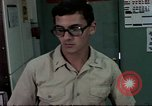 Image of naval officer Diego Garcia Island Indian Ocean, 1979, second 10 stock footage video 65675055628