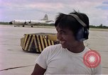 Image of C-141A aircraft Diego Garcia Island Indian Ocean, 1979, second 10 stock footage video 65675055635