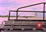 Image of C-141A aircraft Diego Garcia Island Indian Ocean, 1979, second 3 stock footage video 65675055636