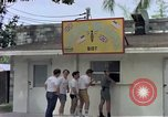 Image of aircrew in chow line Diego Garcia Island Indian Ocean, 1979, second 12 stock footage video 65675055640
