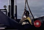 Image of sailors at air base Diego Garcia Island Indian Ocean, 1979, second 3 stock footage video 65675055641
