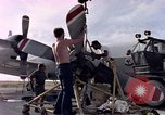 Image of sailors at air base Diego Garcia Island Indian Ocean, 1979, second 6 stock footage video 65675055641