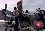 Image of sailors at air base Diego Garcia Island Indian Ocean, 1979, second 7 stock footage video 65675055641