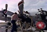 Image of sailors at air base Diego Garcia Island Indian Ocean, 1979, second 8 stock footage video 65675055641
