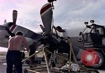 Image of sailors at air base Diego Garcia Island Indian Ocean, 1979, second 9 stock footage video 65675055641