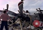 Image of sailors at air base Diego Garcia Island Indian Ocean, 1979, second 11 stock footage video 65675055641
