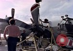 Image of sailors at air base Diego Garcia Island Indian Ocean, 1979, second 12 stock footage video 65675055641