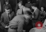 Image of press conference East Germany, 1958, second 7 stock footage video 65675055652