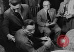 Image of press conference East Germany, 1958, second 10 stock footage video 65675055652