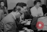 Image of press conference East Germany, 1958, second 11 stock footage video 65675055652