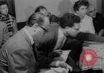 Image of press conference East Germany, 1958, second 12 stock footage video 65675055652