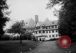 Image of directors visit Saranac Lake New York USA, 1958, second 7 stock footage video 65675055654