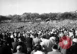Image of Saint Bernadette's Centennial Washington DC USA, 1958, second 11 stock footage video 65675055661
