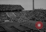 Image of football match East Lansing Michigan USA, 1958, second 6 stock footage video 65675055663